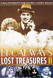 Broadway's Lost Treasures II Poster