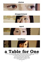 A Table for One Poster