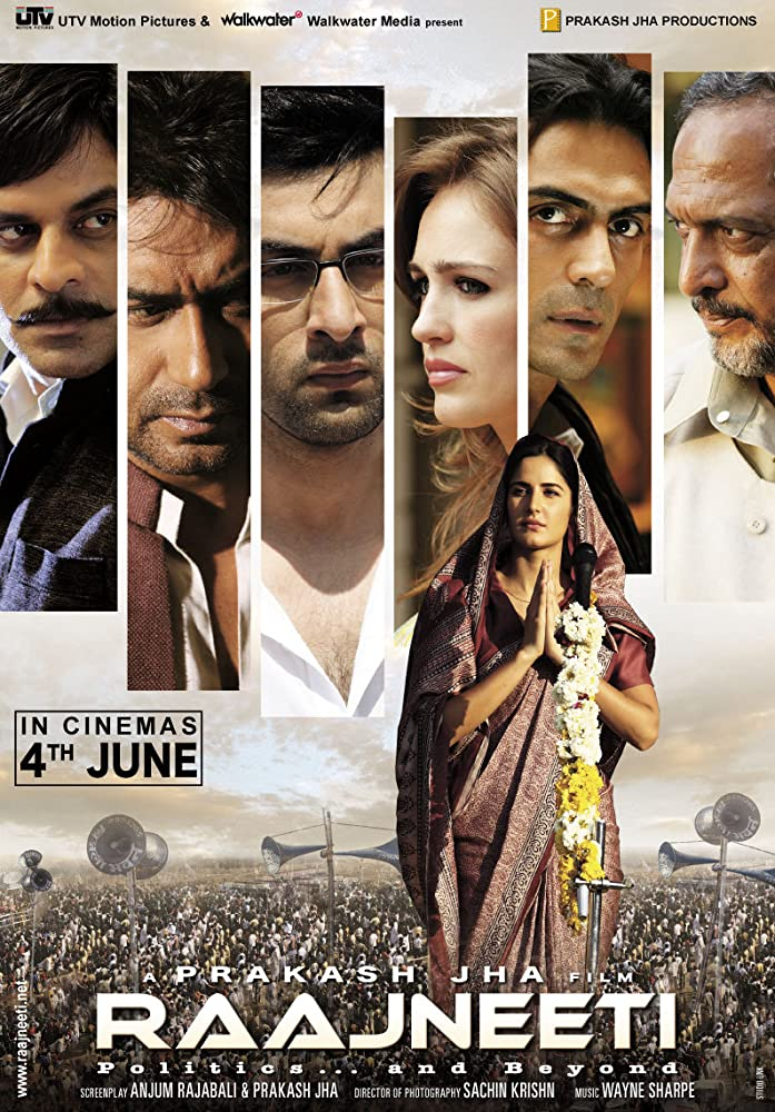 Raajneeti 2010 Hindi 720p BluRay 1.5GB ESubs Download