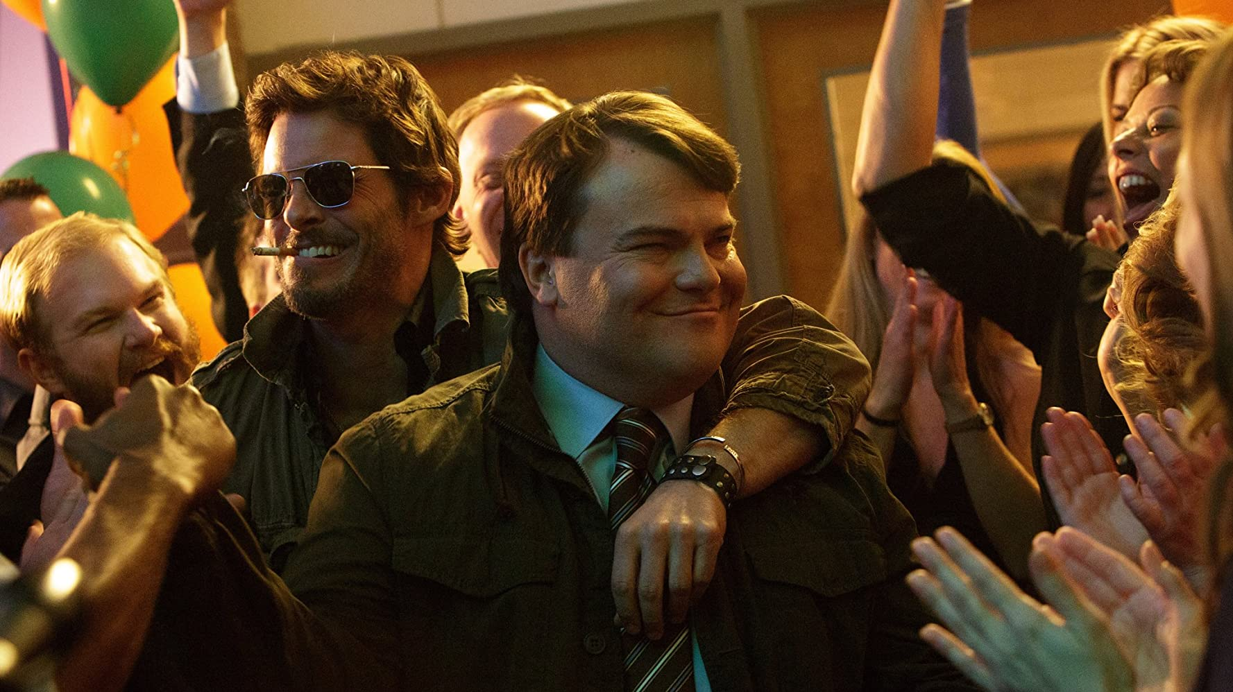 James Marsden and Jack Black in The D Train (2015)