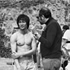 Bruce Lee and Fred Weintraub in Enter the Dragon (1973)