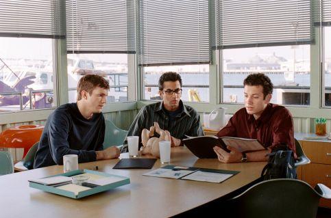 Ashton Kutcher, Kal Penn, and Tyrone Giordano in A Lot Like Love (2005)