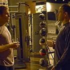 Jonny Lee Miller and Michael C. Hall in Dexter (2006)