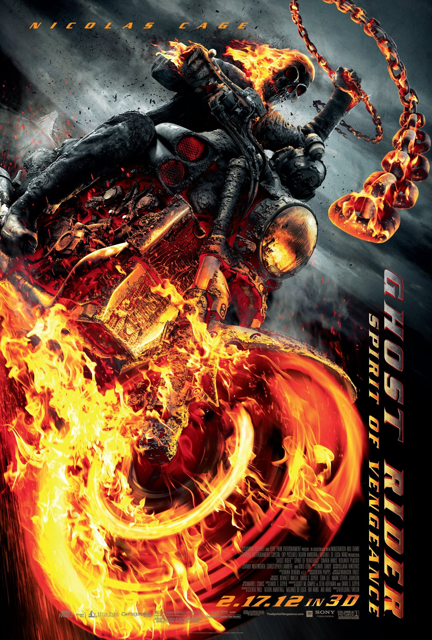 Ghost Rider Spirit Of Vengeance 2011 Imdb