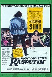 The Night They Killed Rasputin Poster