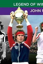 Legends of Wimbledon: John McEnroe Poster