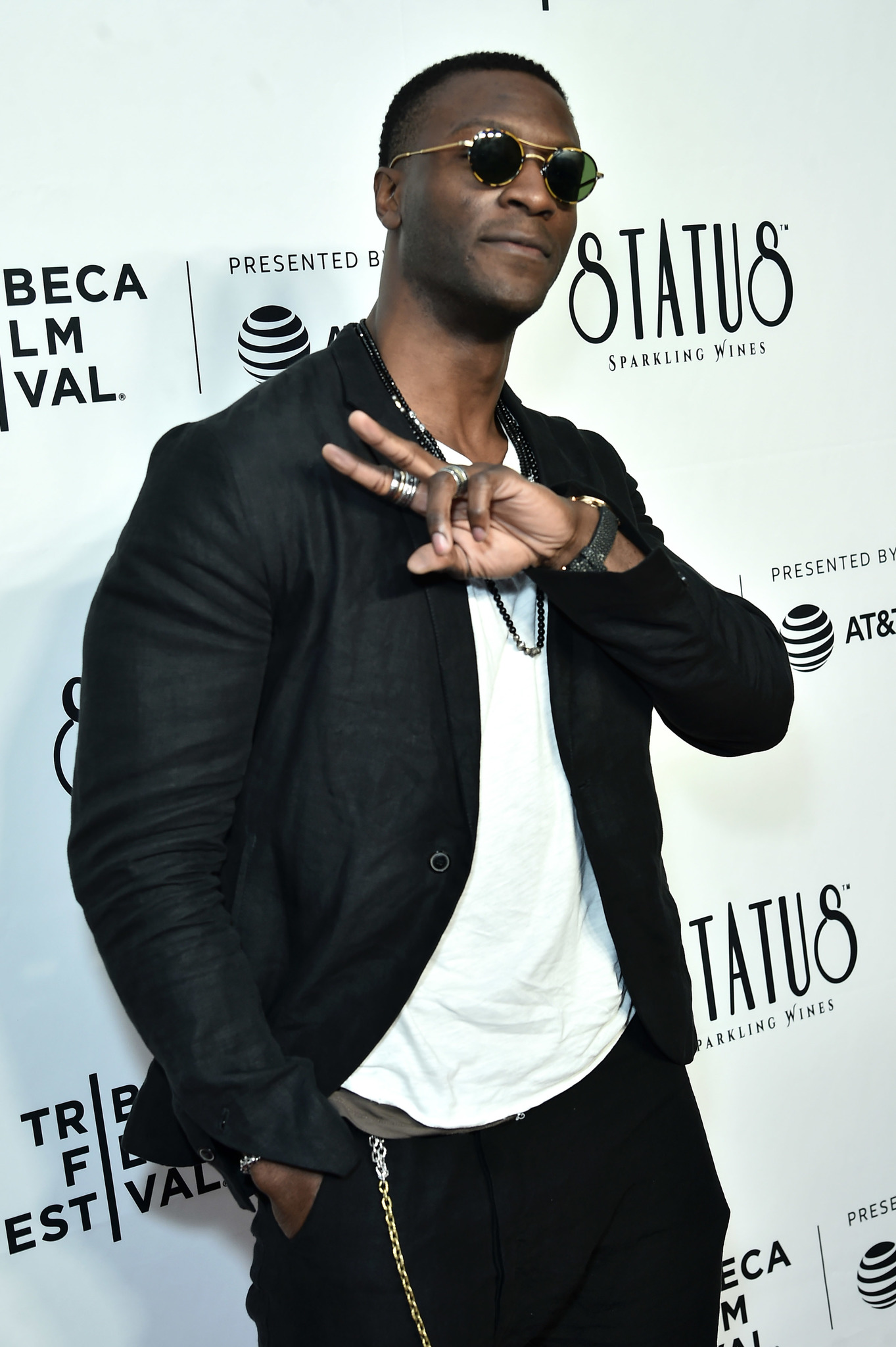 Aldis Hodge at an event for Wu-Tang Clan: Of Mics and Men (2019)