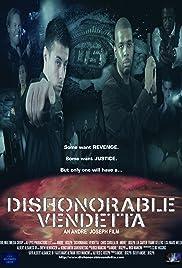 Dishonorable Vendetta Poster