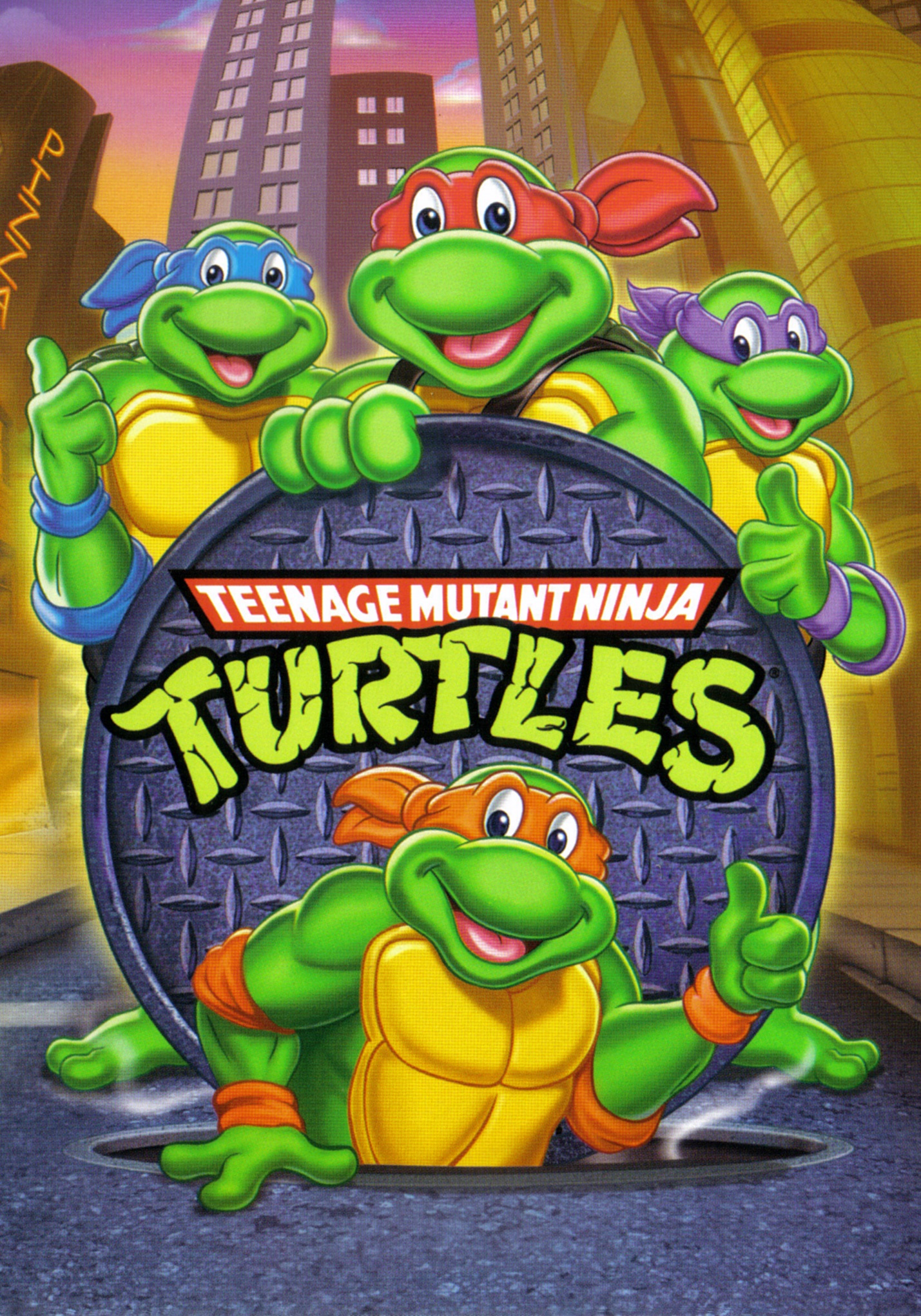 Teenage Mutant Ninja Turtles (TV Series 1987–1996) - IMDb