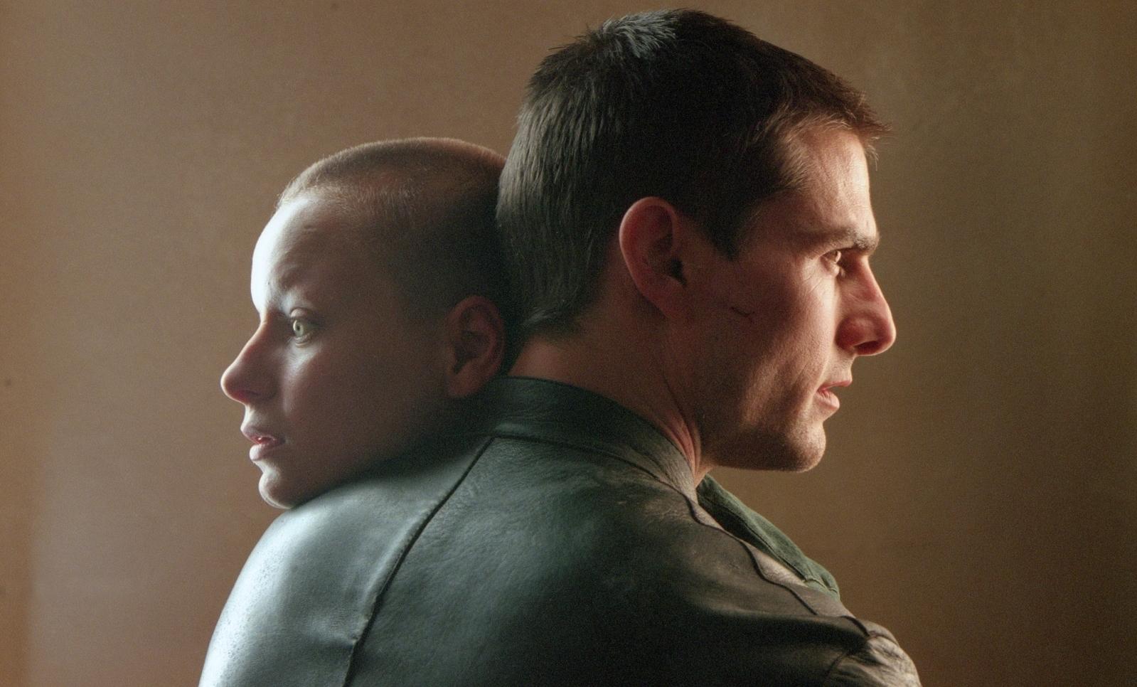 Tom Cruise and Samantha Morton in Minority Report (2002)
