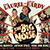 Oliver Hardy, Veda Ann Borg, Stan Laurel, Doris Merrick, and Arthur Space in The Big Noise (1944)
