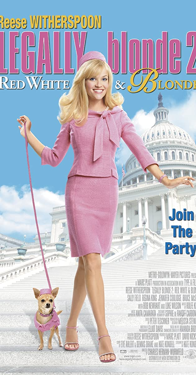 Subtitle of Legally Blonde 2: Red, White & Blonde