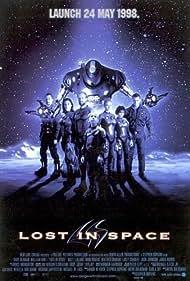 Gary Oldman, Mimi Rogers, Lacey Chabert, William Hurt, Heather Graham, Matt LeBlanc, and Jack Johnson in Lost in Space (1998)