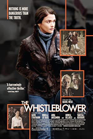 The Whistleblower poster
