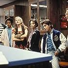 Samantha Mathis, Dan Eisenstein, Jay Lambert, Andy Romano, and Lala Sloatman in Pump Up the Volume (1990)