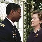 Denzel Washington and Meryl Streep in The Manchurian Candidate (2004)