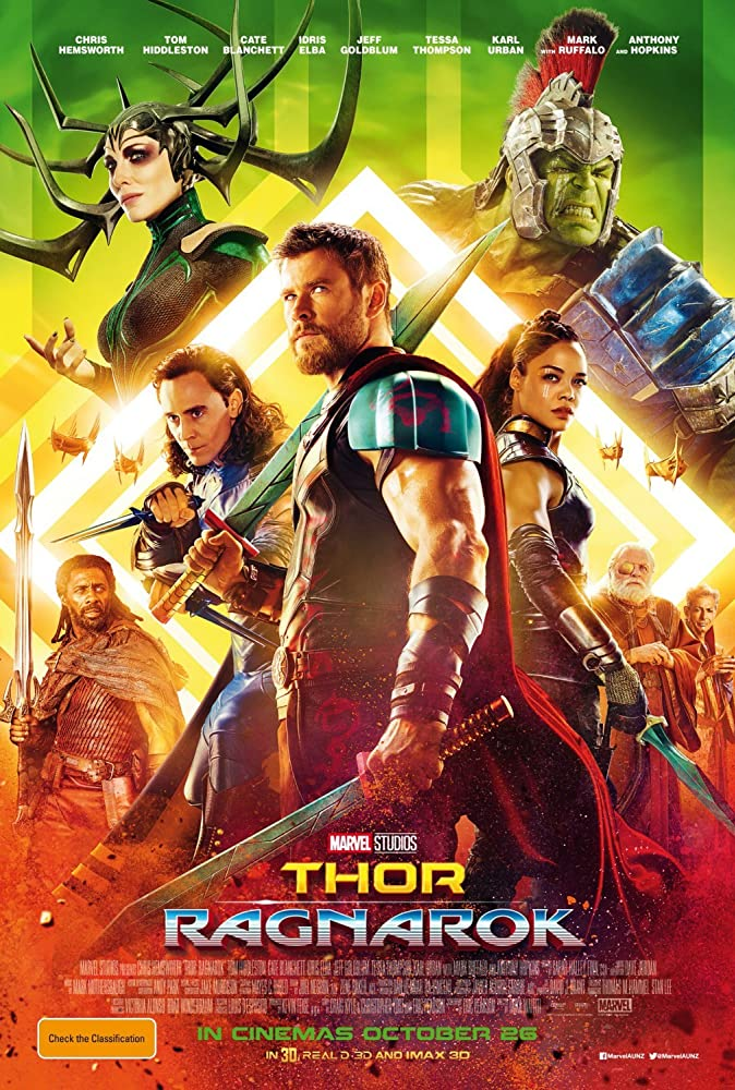 Thor Ragnarok 2017 Dual Audio Hindi 500MB BluRay ESub Download