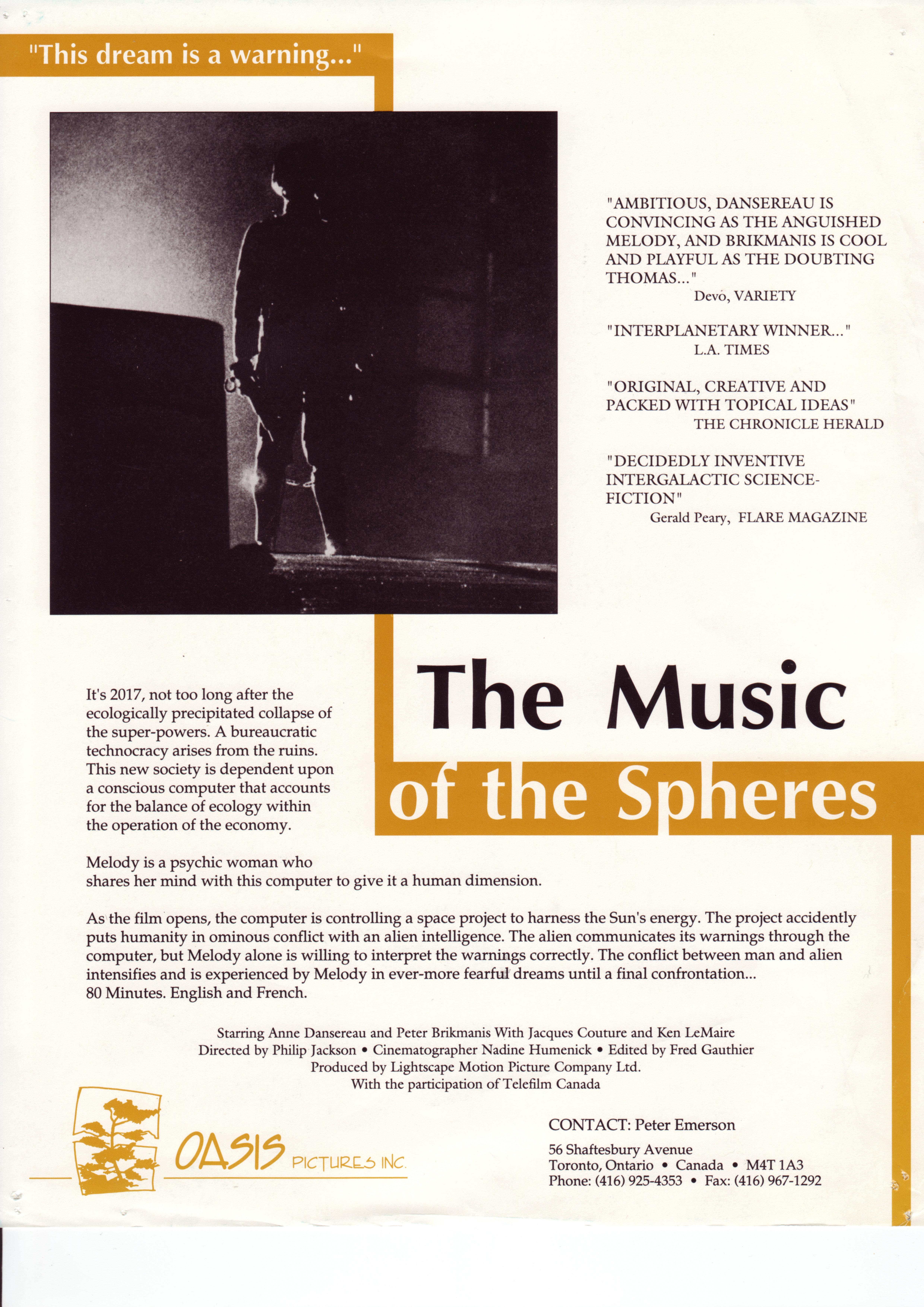 Music of the Spheres (1984) - IMDb