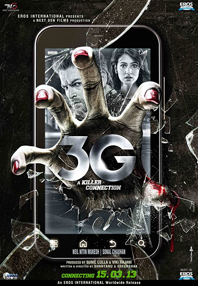 3G – A Killer Connection 2013 Hindi 350MB HDRip 480p x264 Download