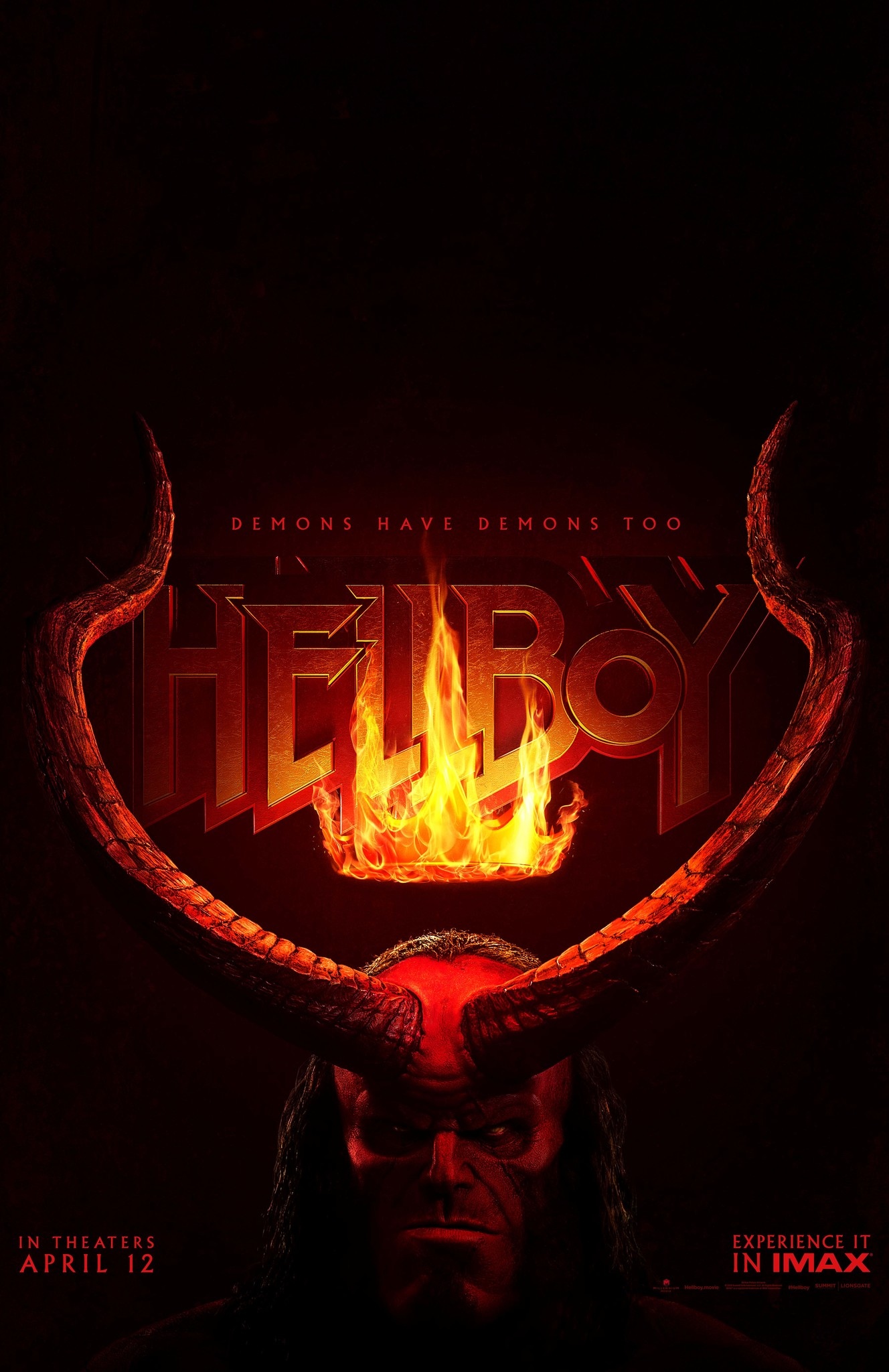 Hasil gambar untuk Hellboy 2019 poster