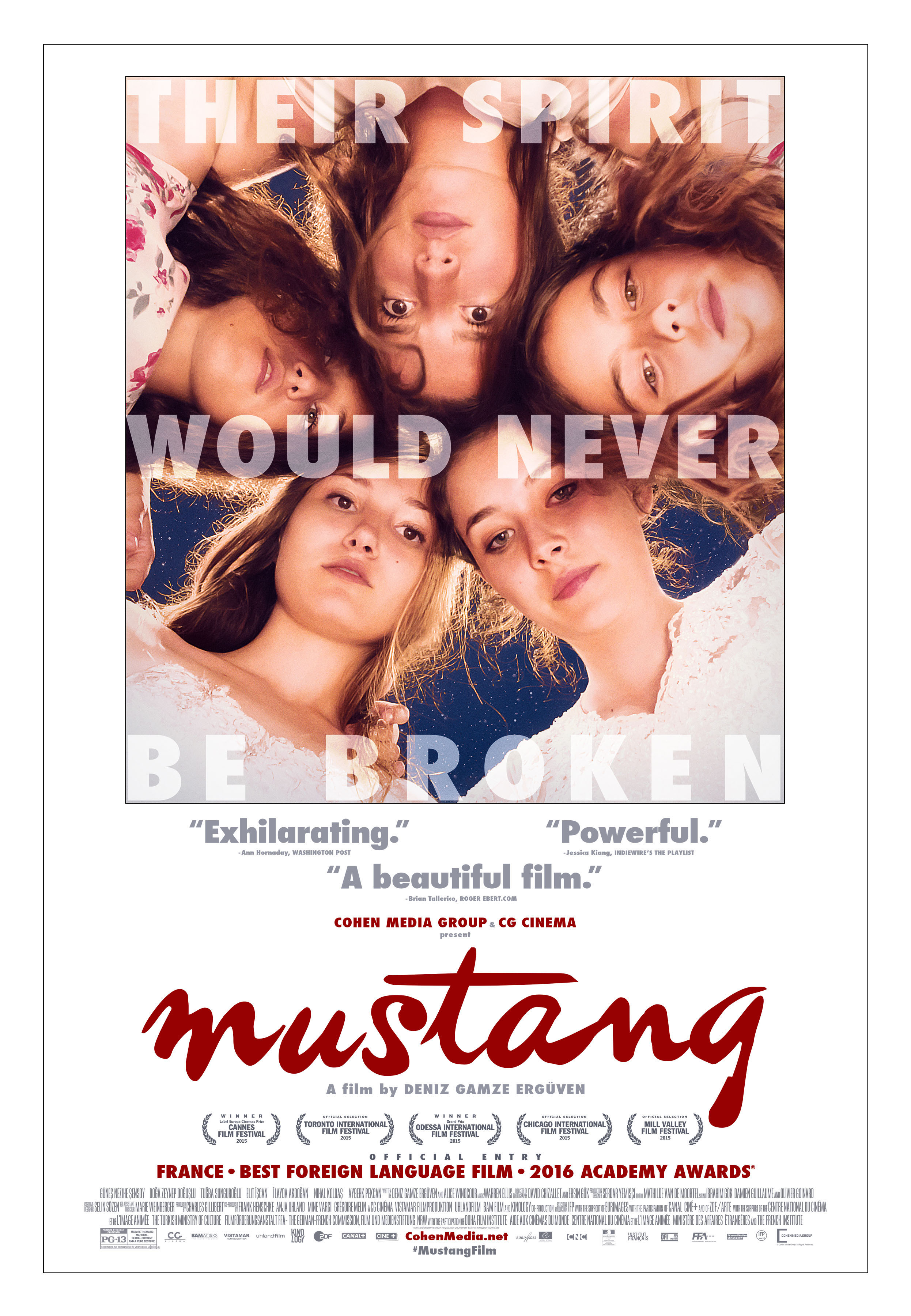 Mustang (2015) BluRay 480p, 720p & 1080p