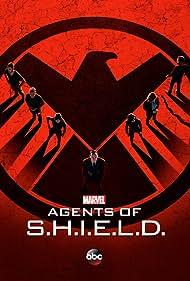 Ming-Na Wen, Clark Gregg, Iain De Caestecker, Nick Blood, Brett Dalton, Chloe Bennet, and Elizabeth Henstridge in Agents of S.H.I.E.L.D. (2013)