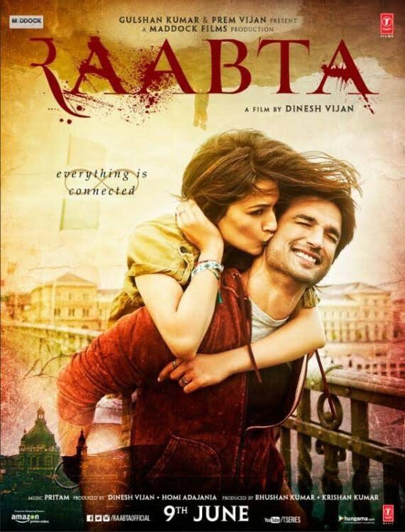 Raabta (2017) Hindi 1080p WebHD AVC DD 5.1 ESuBS By-DusIcTv