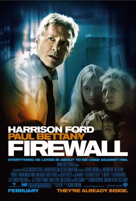 Download Firewall (2006) BluRay 480p [363MB] | 720p [864MB] | Dual Audio {Hindi English}