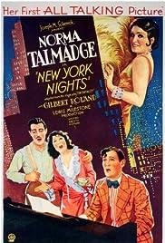 New York Nights(1929) Poster - Movie Forum, Cast, Reviews