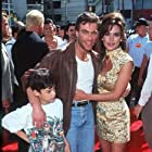 Jean-Claude Van Damme, Darcy LaPier, and Kris Van Damme at an event for The Quest (1996)