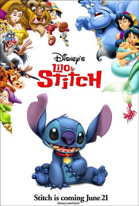 Chris Sanders in Lilo & Stitch (2002)