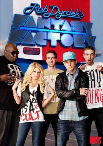 Rob Dyrdek, Chris Boykin, Chris Pfaff, Scott Pfaff, and Chanel West Coast in Fantasy Factory (2009)