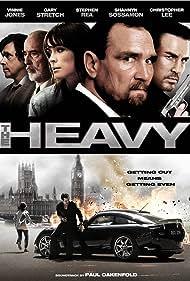 Christopher Lee, Stephen Rea, Vinnie Jones, Shannyn Sossamon, and Gary Stretch in The Heavy (2009)