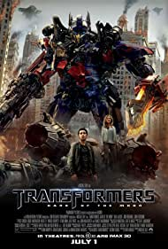 Peter Cullen, Shia LaBeouf, and Rosie Huntington-Whiteley in Transformers: Dark of the Moon (2011)