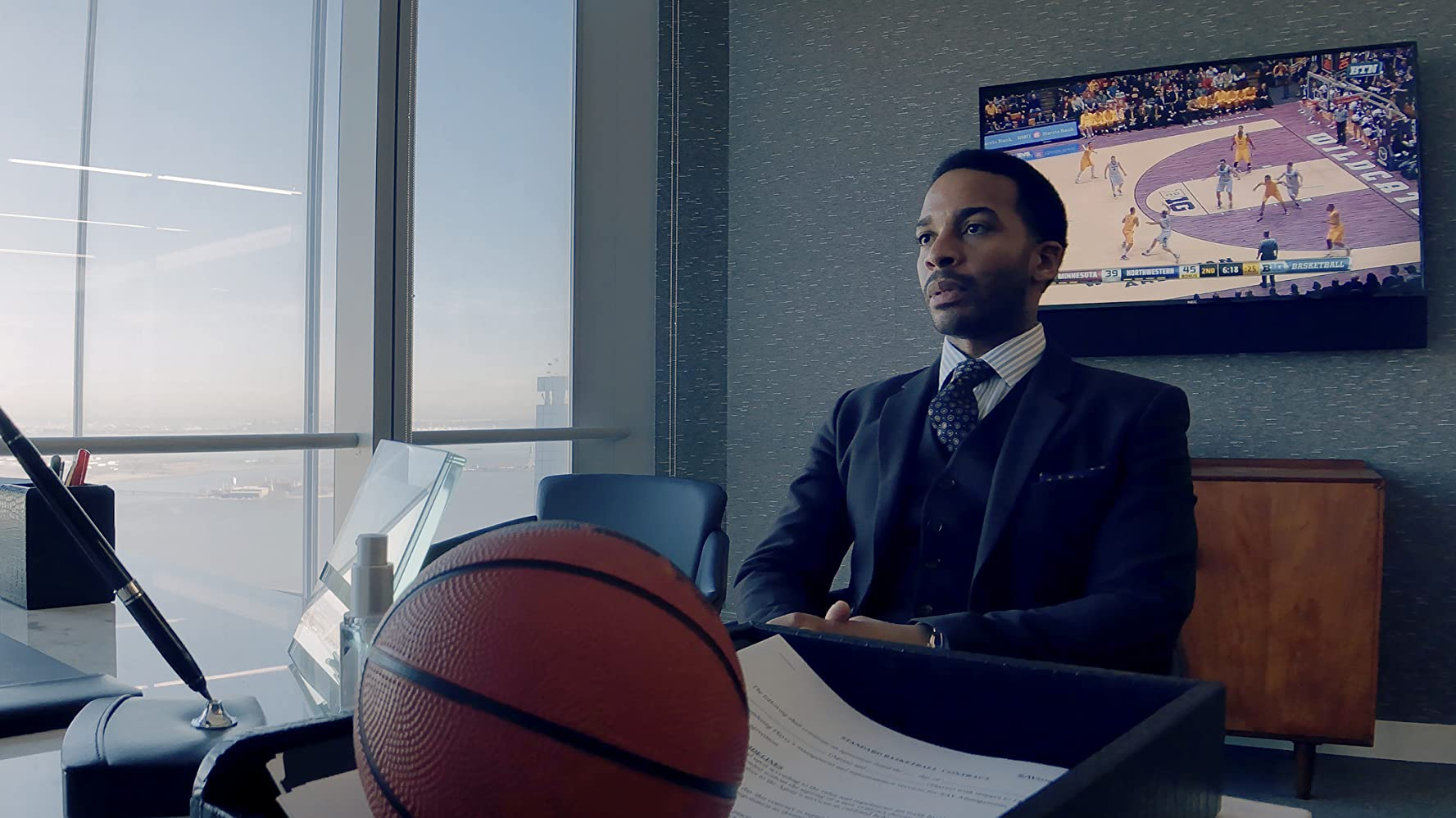 Andre Holland in High Flying Bird (2019)