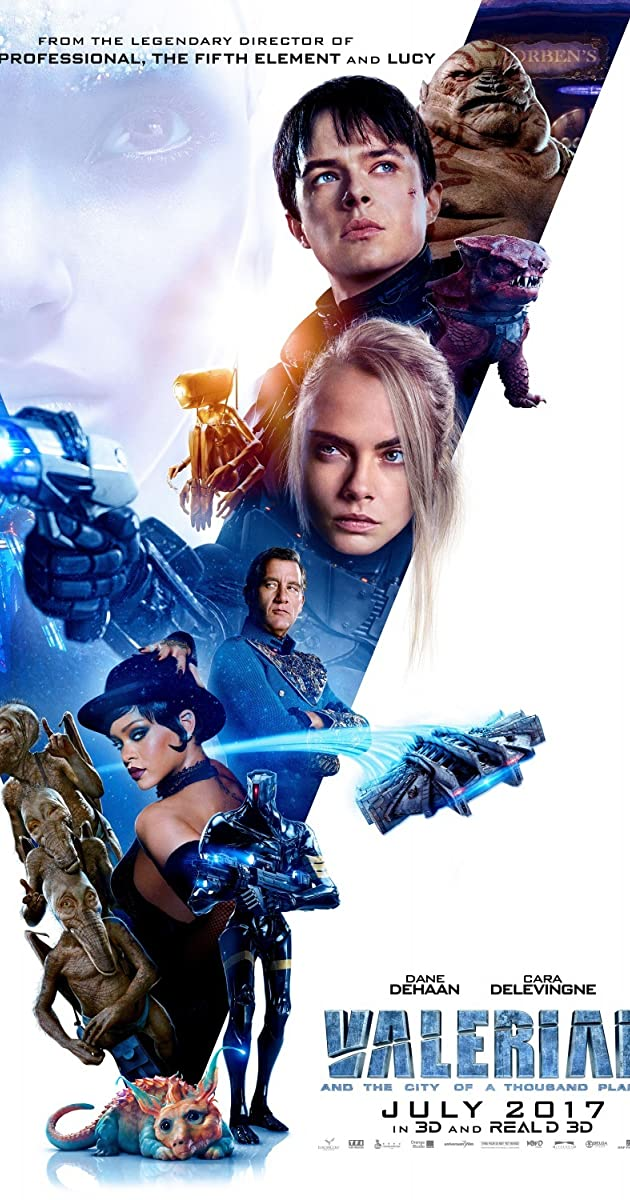 Watch Full HD Movie Valerian and the City of a Thousand Planets (2017)