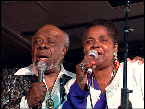 Carla Thomas and Rufus Thomas in Only the Strong Survive (2002)