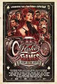 Flake and Flames Poster