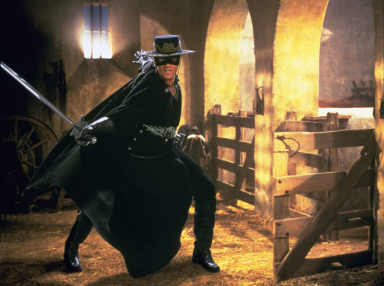 Sinopsis The Mask of Zorro