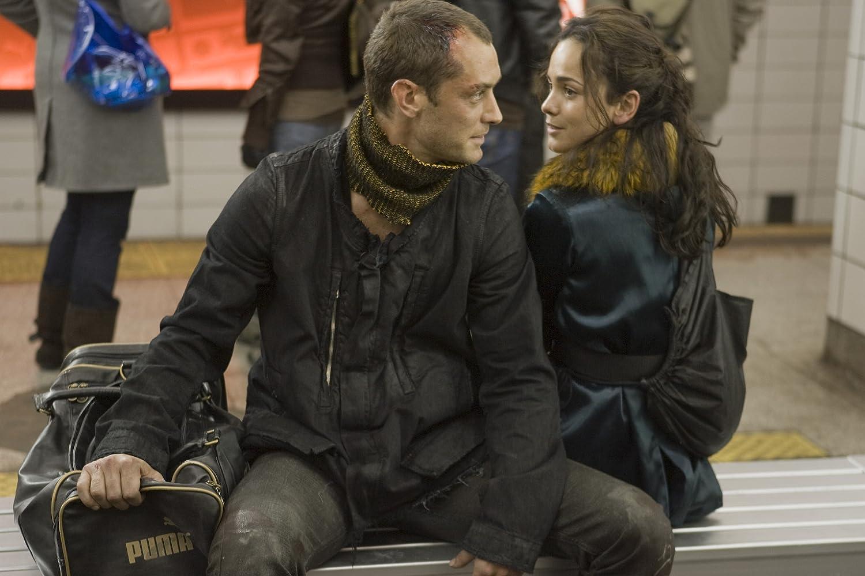 Jude Law and Alice Braga in Repo Men (2010)