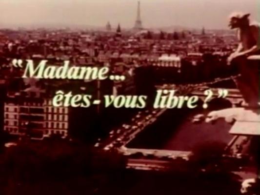 Madame êtes-vous libre? (1971)