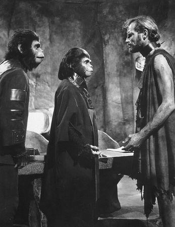 """Planet Of The Apes"" Roddy McDowall, Kim Hunter, Charlton Heston 1968 20th Cent. Fox"