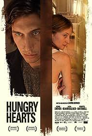 Alba Rohrwacher and Adam Driver in Hungry Hearts (2014)