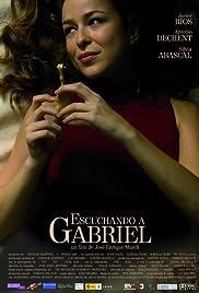 Escuchando a Gabriel Poster