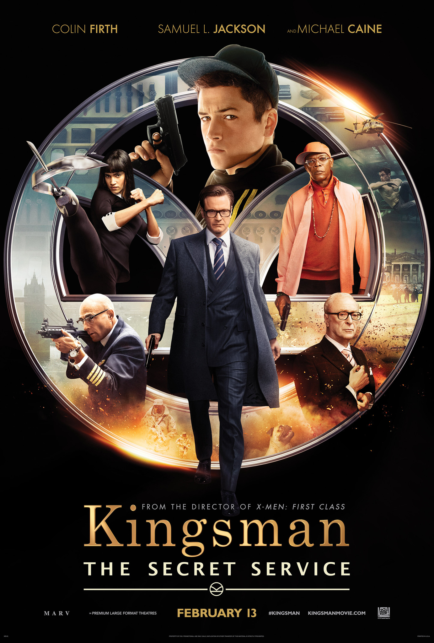 Kingsman: The Secret Service (2014) Full Hindi Dubbed Movie
