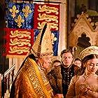 Sarah Bolger, Anthony Brophy, Simon Ward, and Rebekah Wainwright in The Tudors (2007)