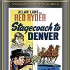 Robert Blake and Allan Lane in Stagecoach to Denver (1946)