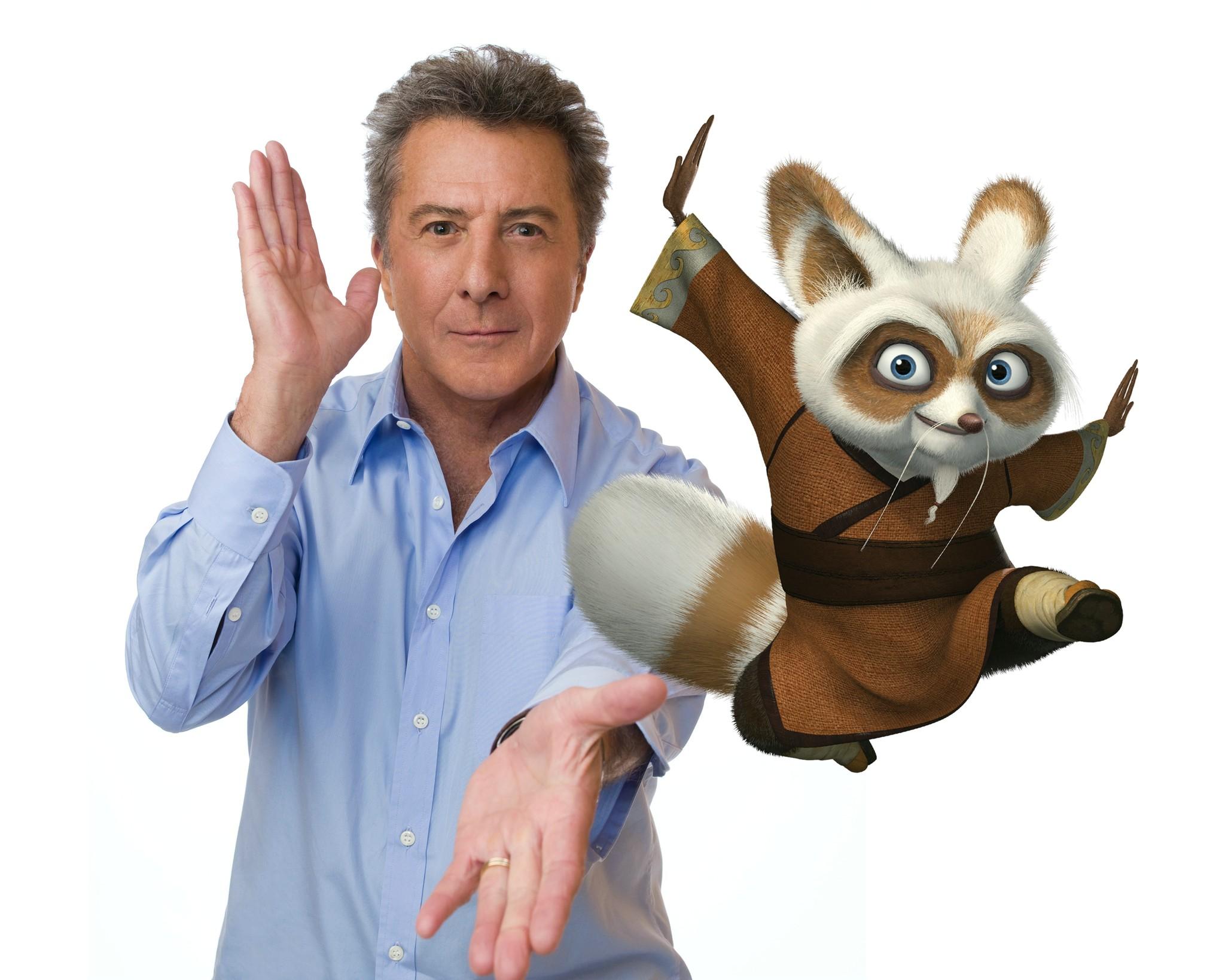 Dustin Hoffman in Kung Fu Panda (2008)