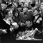 James Stewart, Ward Bond, Donna Reed, Gloria Grahame, Beulah Bondi, Frank Faylen, Todd Karns, Thomas Mitchell, Lillian Randolph, H.B. Warner, and Charles Williams in It's a Wonderful Life (1946)