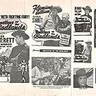 Steve Clark, Tex Harding, and Charles Starrett in Rustlers of the Badlands (1945)